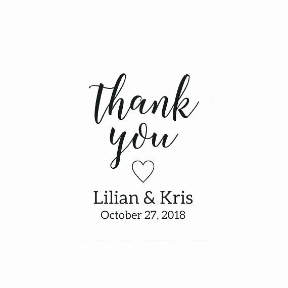 Thank You Tag Template Elegant Thank You Tag Template