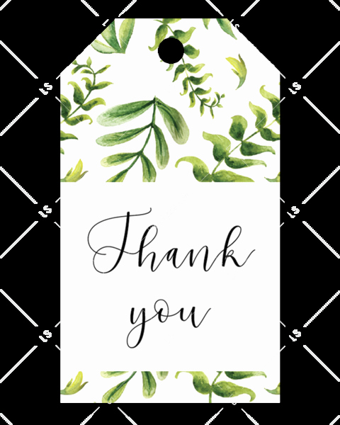Thank You Tag Template Lovely Baby Shower Favor Tag Gender Neutral Editable Pdf Template