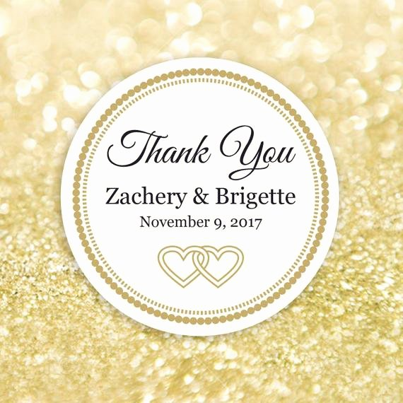 Thank You Tag Template Unique Thank You Label Template Editable Printable Round Label