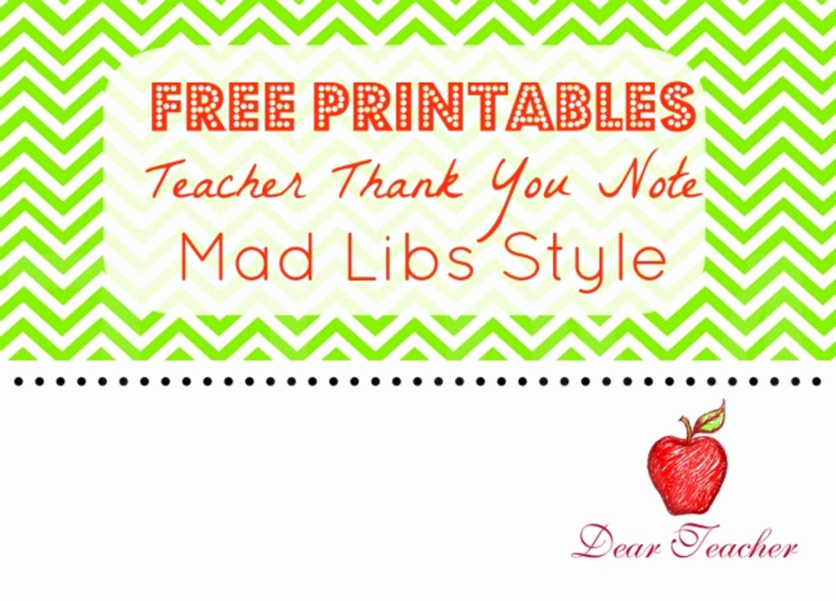 Thank You Teacher Notes Awesome Teacher Thank You Notes Free Printables Momtrends