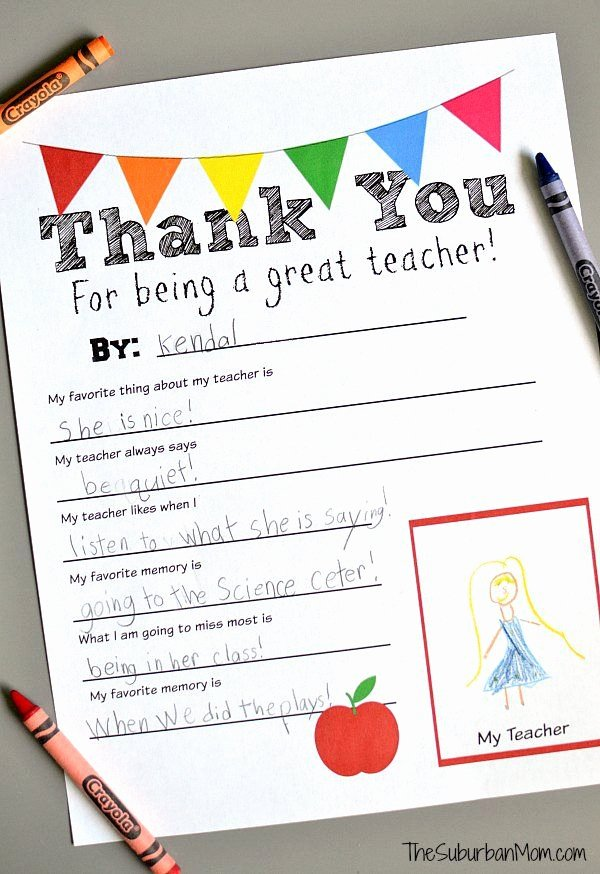 Thank You Teacher Notes Best Of 1000 Images About Thank You Notes On Pinterest