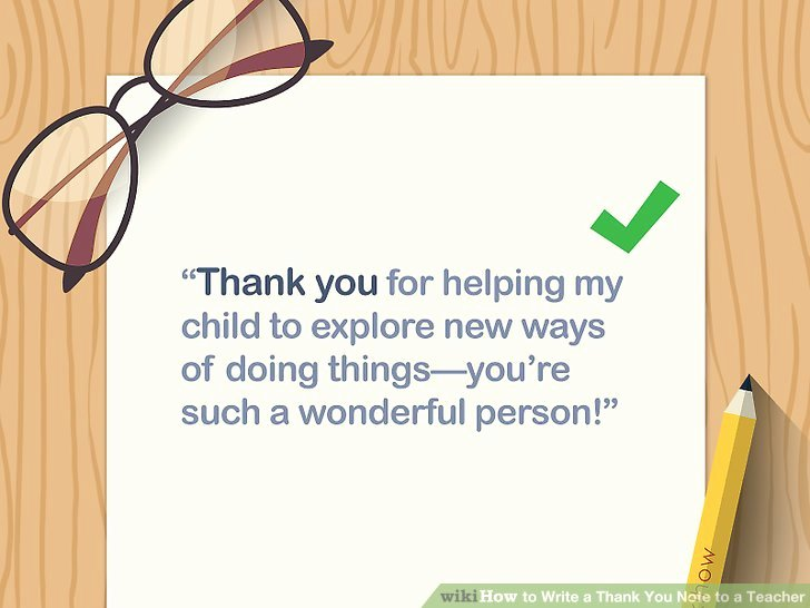 Thank You Teacher Notes Unique How to Write A Thank You Note to A Teacher with Sample Notes