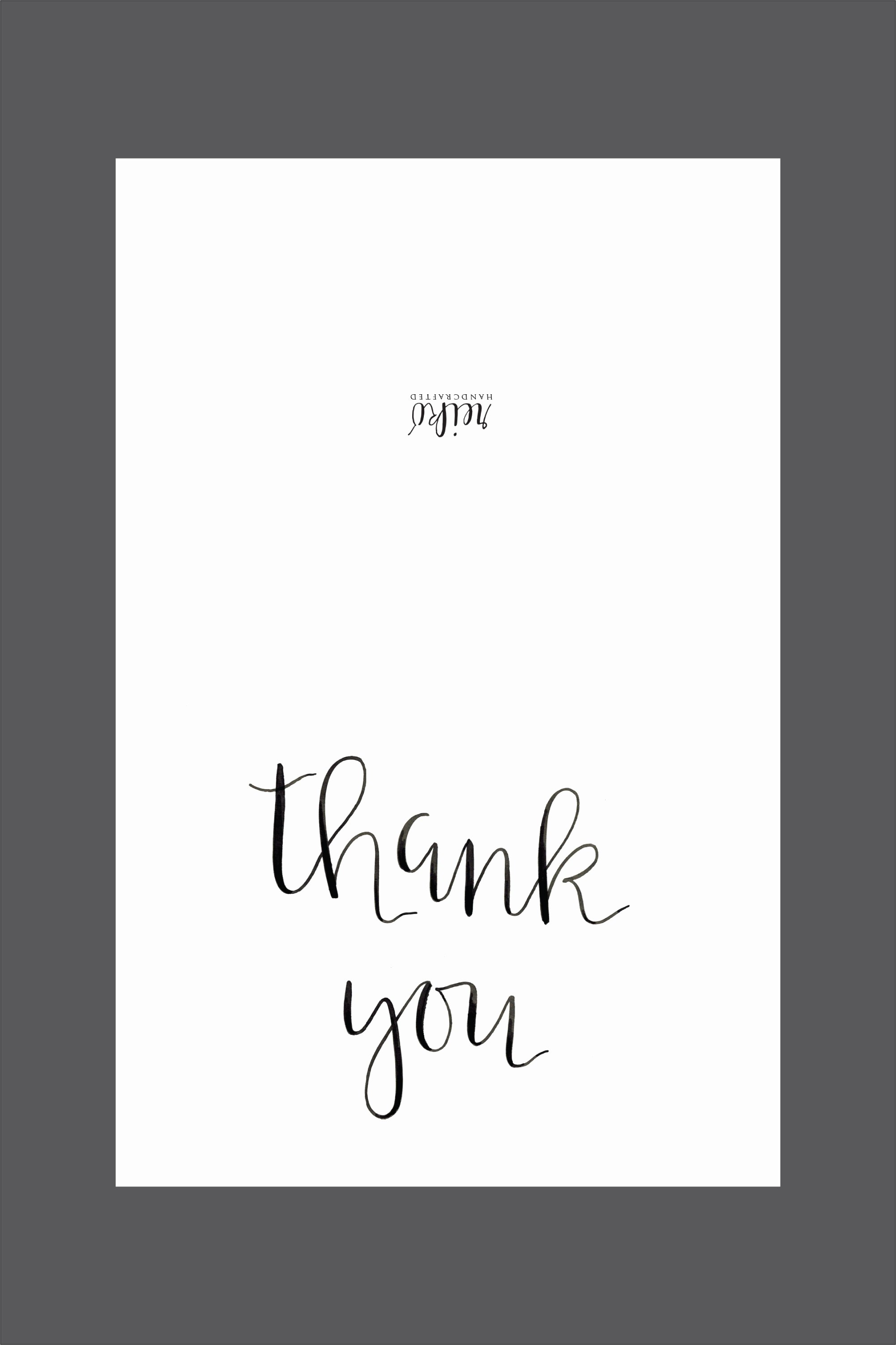 Thank You Template Free Fresh Printable Archives Reiko Handcrafted
