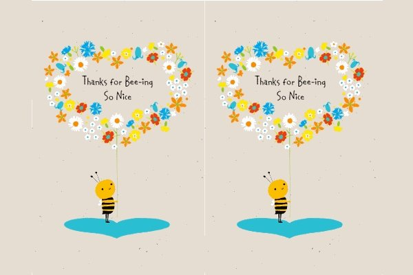 Thank You Template Free New 34 Free Thank You Card Templates Psd Ai Vector Eps