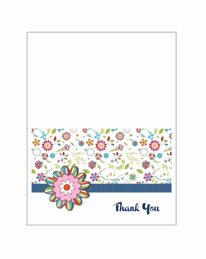 Thank You Template Free Unique 30 Free Printable Thank You Card Templates Wedding