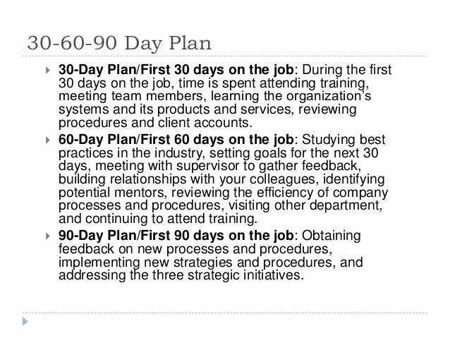 The First 90 Days Template Beautiful 30 60 90 Day Plan for Lifelong Learning