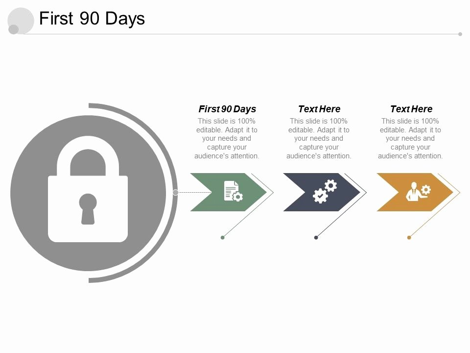 The First 90 Days Template Beautiful First 90 Days Ppt Powerpoint Presentation Infographic