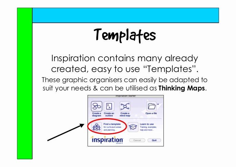 Thinking Maps Templates Beautiful Using Inspiration S Templates with Thinking Maps