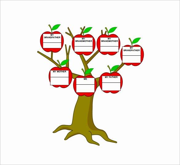 Three Generation Family Tree Best Of Three Generation Family Tree Template – 10 Free Word