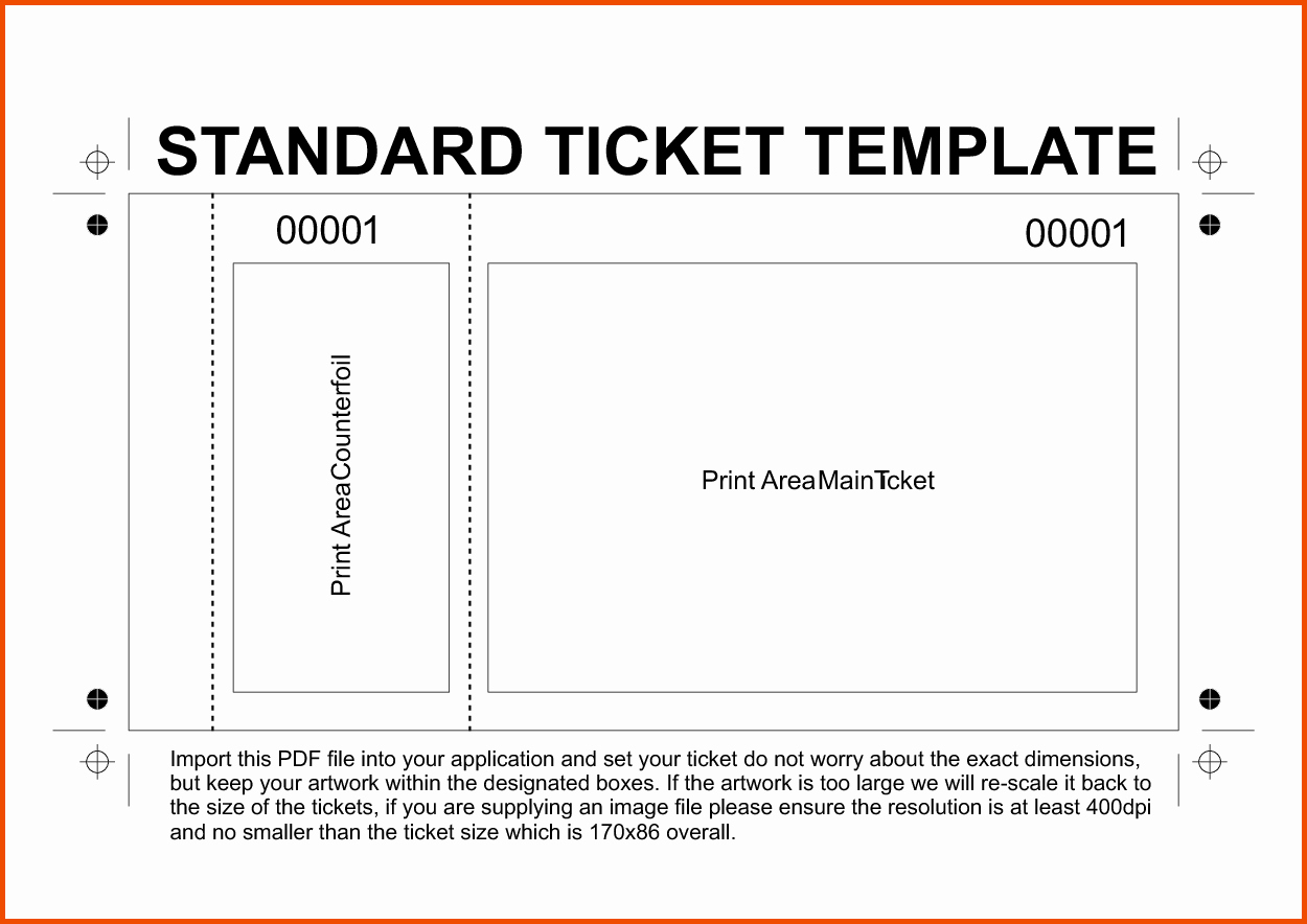 Ticket Template Free Printable Unique Pin by Becky Preston On Things I Want to Make