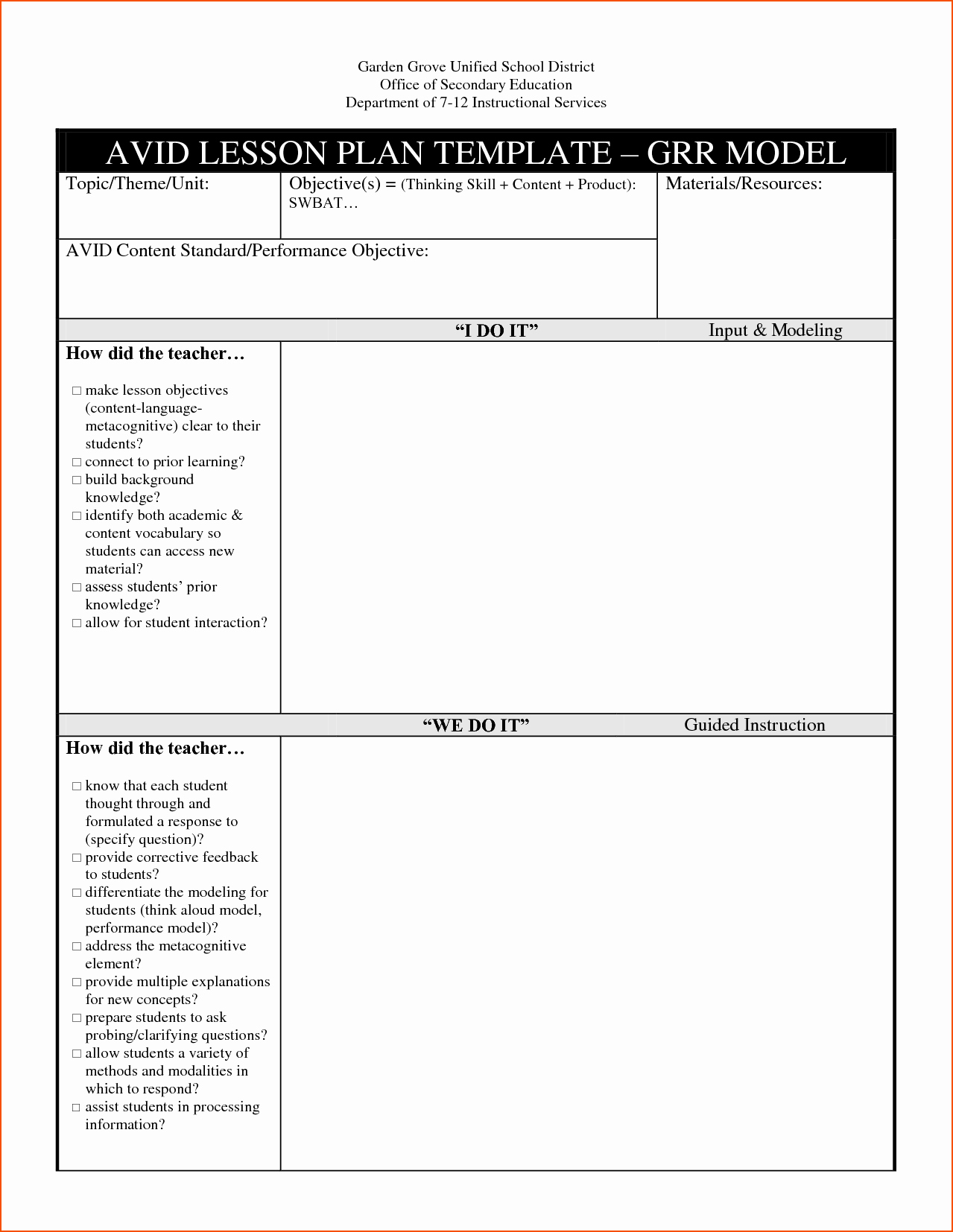 Tiered Lesson Plan Template Fresh Tiered Lesson Plan Template Doc Pictures Sludgeport657