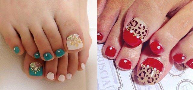 Toe Nail Art Easy Beautiful Easy & Cute toe Nail Art Designs & Ideas 2013 2014 for