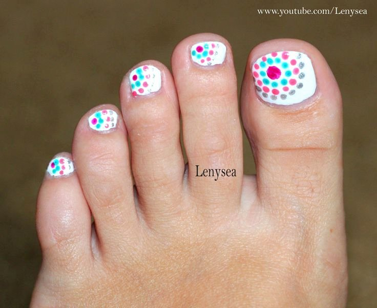 Toe Nail Art Easy Elegant 1000 Ideas About Easy toe Nails On Pinterest