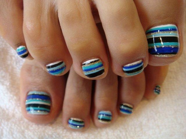 Toe Nail Art Easy Elegant Chic toe Nail Art Ideas for Summer