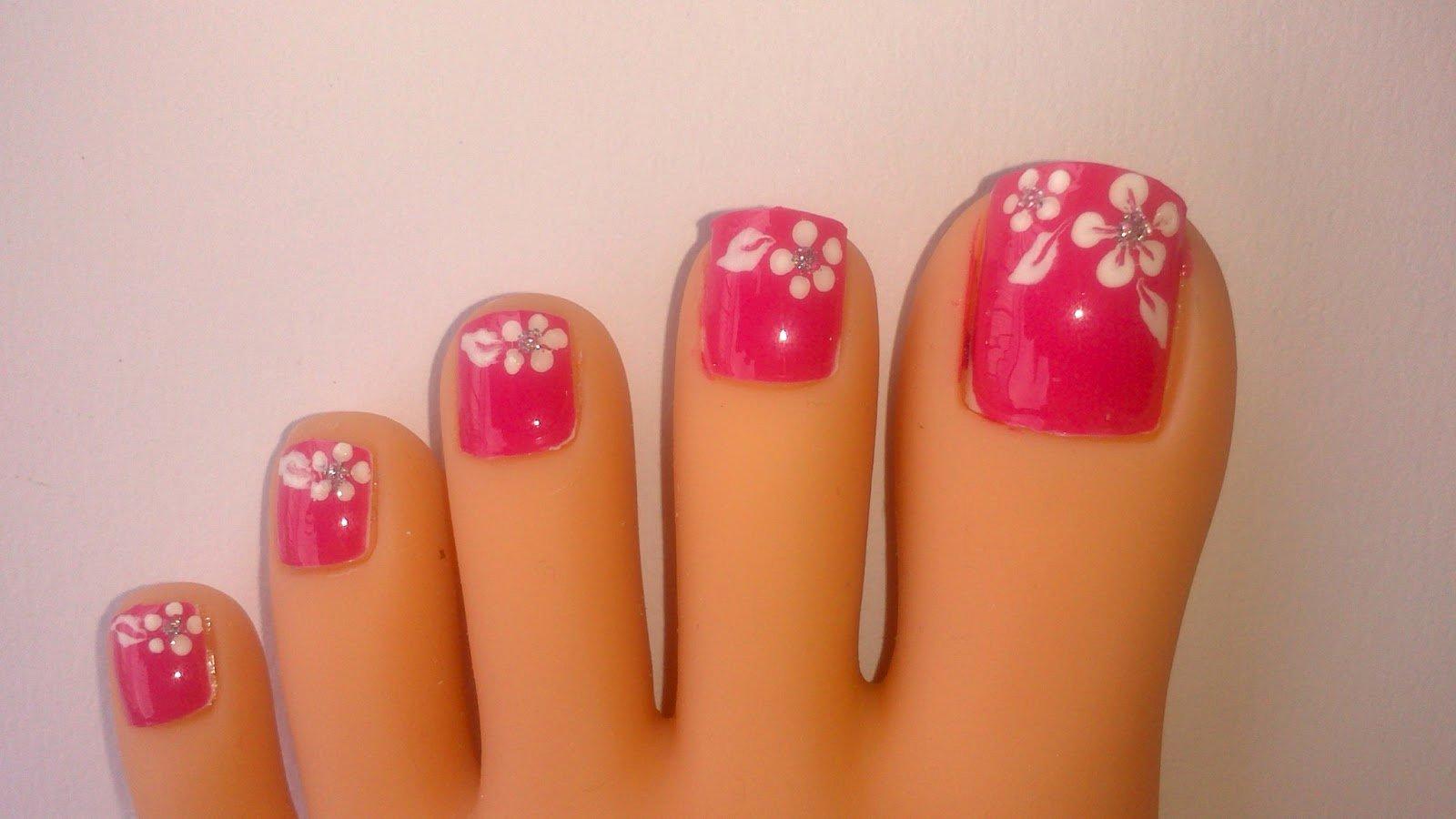 Toe Nail Art Easy Fresh Lnetsa S Nailart toe Nail Design Short Nails Version