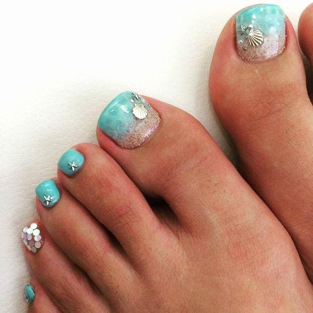 Toe Nail Art Easy Inspirational 20 Adorable Easy toe Nail Designs 2019 Simple toenail