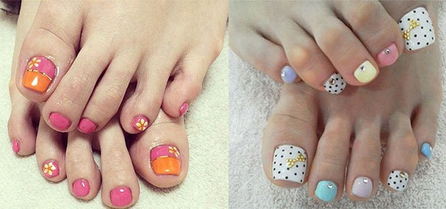 Toe Nail Art Easy Lovely 20 Easy & Simple toe Nail Art Designs Ideas & Trends