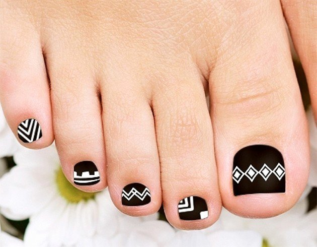 Toe Nail Art Easy Luxury 35 Easy toe Nail Designs that are totally Worth Your Time