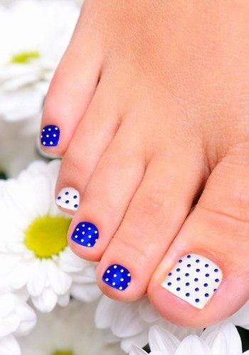 Toe Nail Art Easy Luxury Cute and Easy toenail Art Designs