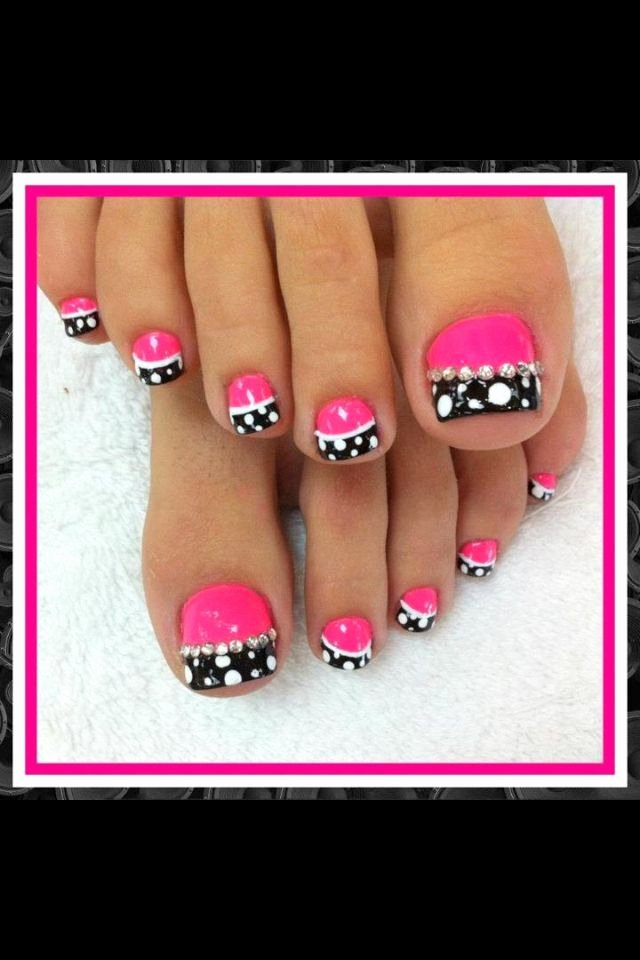 Toe Nail Art Easy New 20 Adorable Easy toe Nail Designs 2017 Pretty Simple