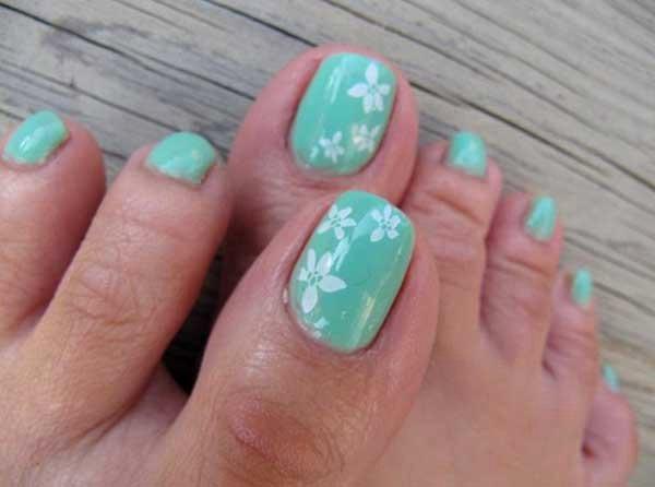 Toe Nail Art Easy New 20 Fresh toe Nail Designs Easyday