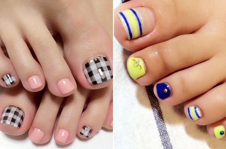 Toe Nail Art Easy New 35 Easy toe Nail Designs that are totally Worth Your Time
