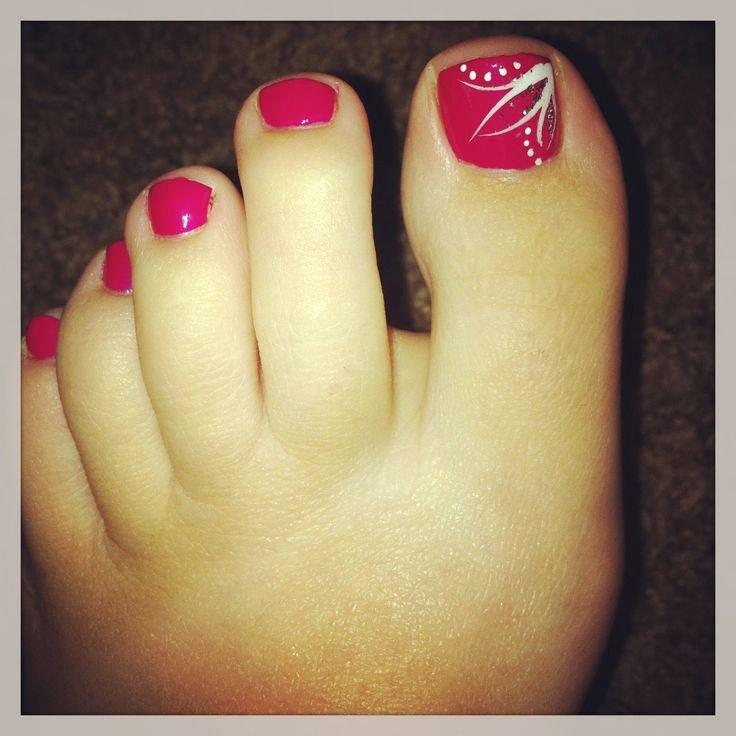 Toe Nail Art Easy Unique Best 25 Simple toenail Designs Ideas On Pinterest