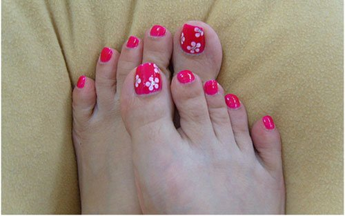 Toe Nail Art Flower Inspirational 50 Most Beautiful and Stylish Flower toe Nail Art Design