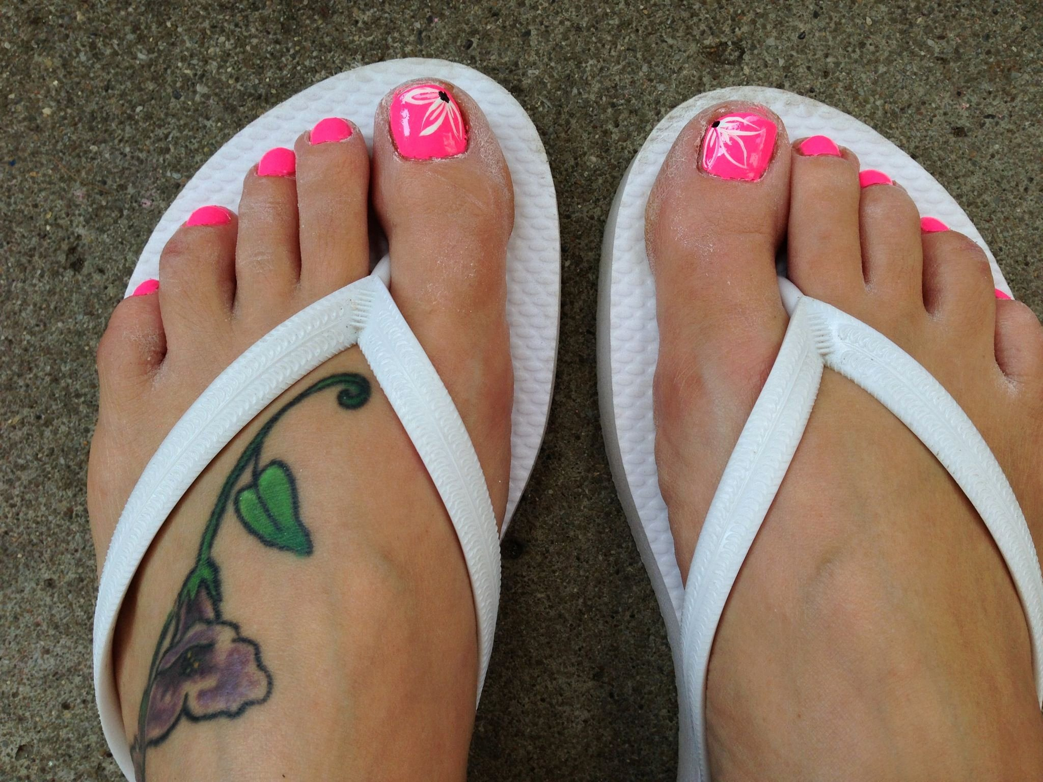 Toe Nail Art Flower Inspirational toe Nail Flower Design Beauty