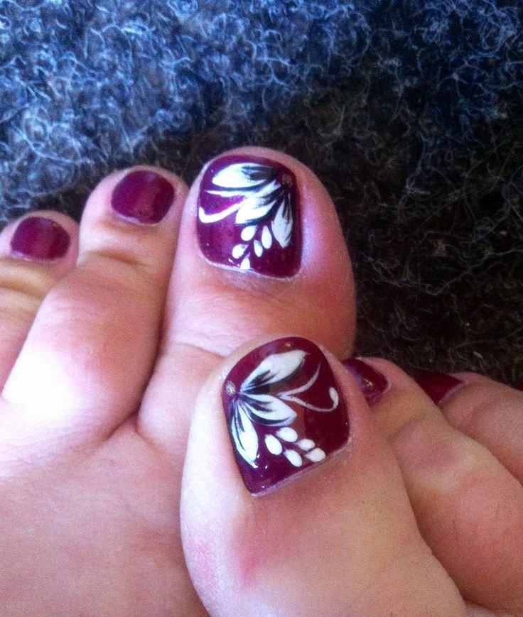 Toe Nail Art Flower Lovely My Summer Holiday toe Nail Art Nail Art