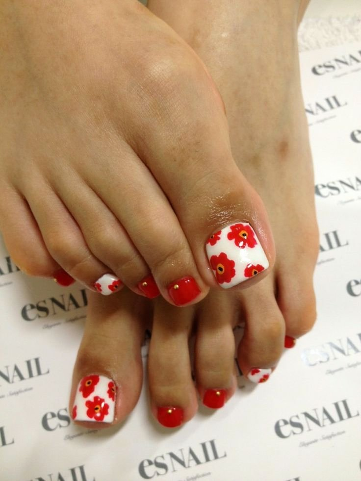 Toe Nail Art Flower Luxury 55 Cute toe Nail Designs for Every Mood and Taste Fmag