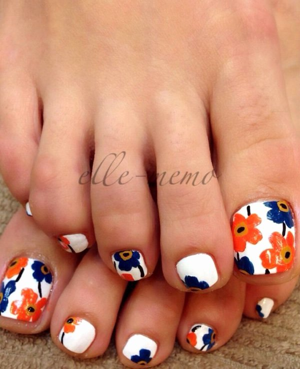 Toe Nail Art Flower New 27 Gorgeous toe Nail Art Designs that You Should Got to Have