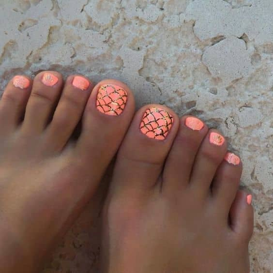 Toe Nail Design Pictures Beautiful 50 Cute Summer toe Nail Art and Design Ideas for 2019