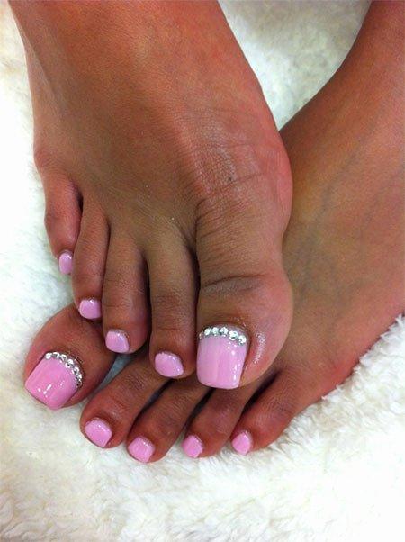 Toe Nail Design Pictures Fresh Wedding toe Nail Art Designs & Ideas 2014