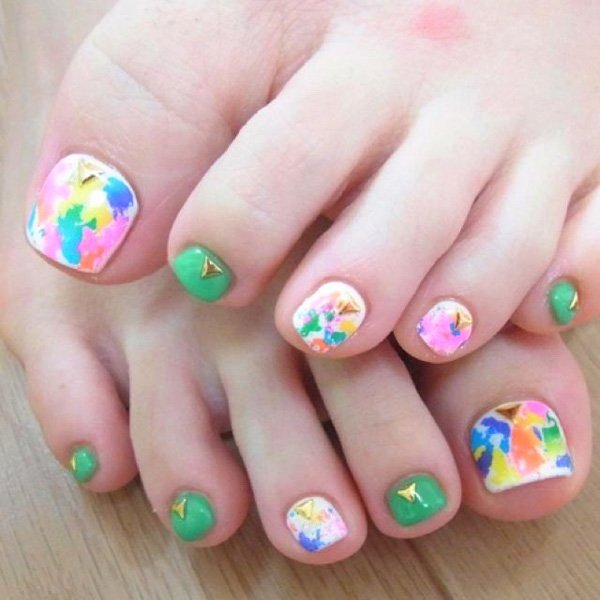 Toe Nail Design Pictures Inspirational 50 Pretty toe Nail Art Ideas for Creative Juice
