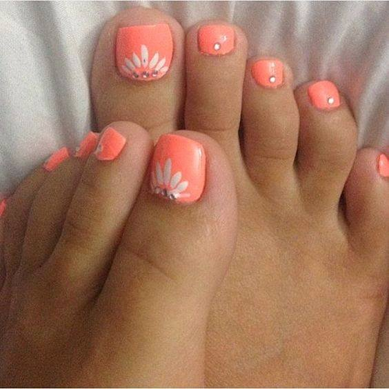 Toe Nail Design Pictures Inspirational 56 Adorable toe Nail Designs for Summer 2017