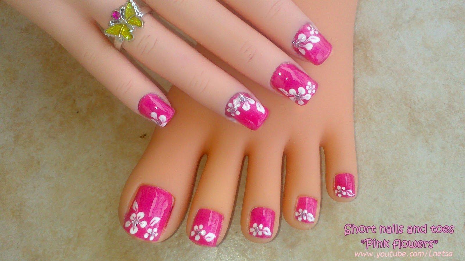 Toe Nail Design Pictures Lovely Lnetsa S Nailart toe Nail Design Short Nails Version