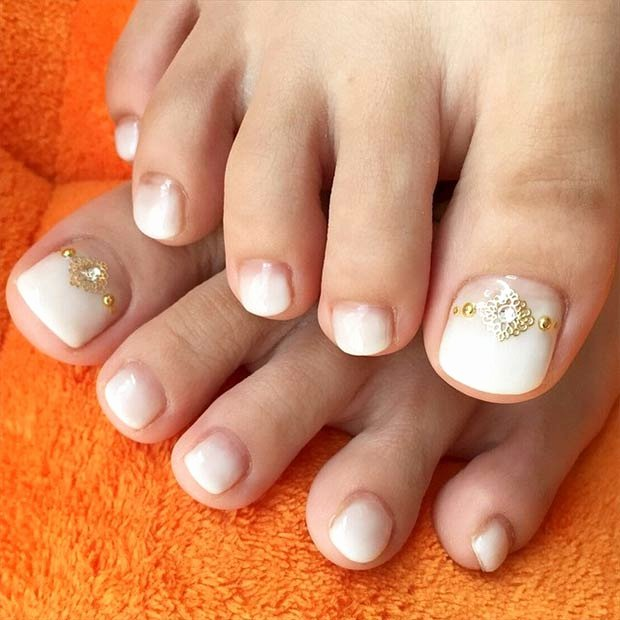 Toe Nail Design Pictures Luxury 51 Adorable toe Nail Designs for This Summer