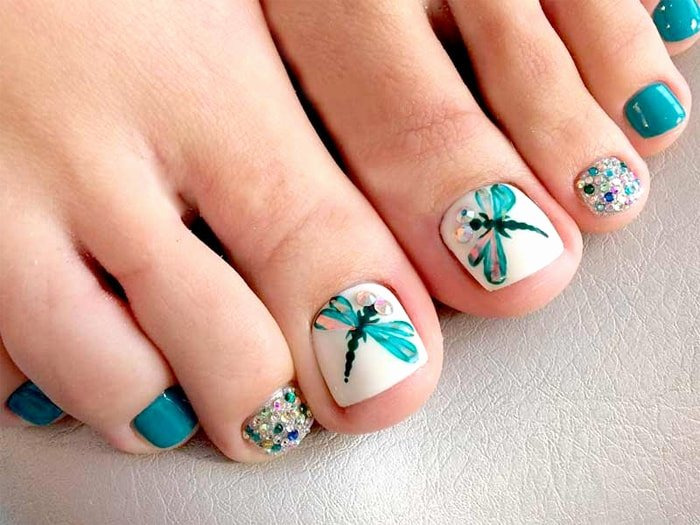 Toe Nail Design Pictures New 25 Beautiful and Simple Nail Art Designs – Sheideas