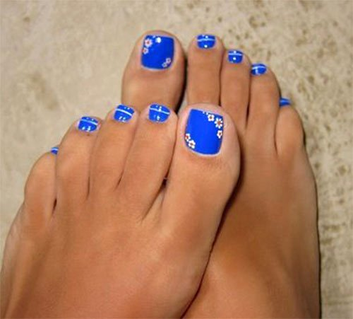 Toe Nail Polish Designs Beautiful 15 Spring toe Nails Art Designs & Ideas 2017