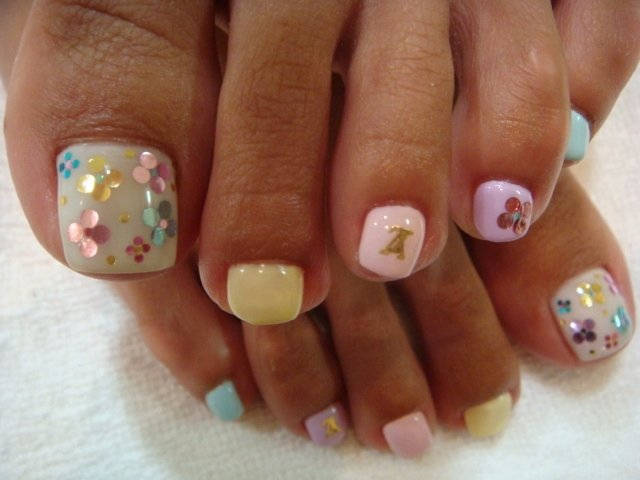 Toe Nail Polish Designs Beautiful Chic toe Nail Art Ideas for Summer
