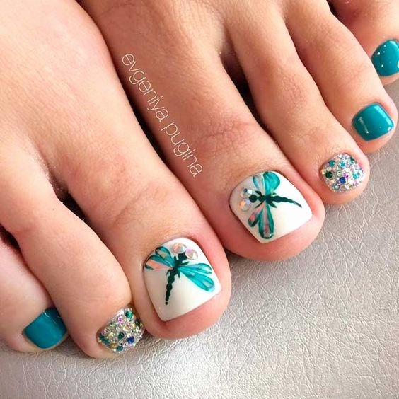 Toe Nail Polish Designs Best Of Best 25 toe Nail Polish Ideas On Pinterest