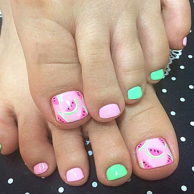 Toe Nail Polish Designs Lovely 25 toe Nail Designs that Scream Summer