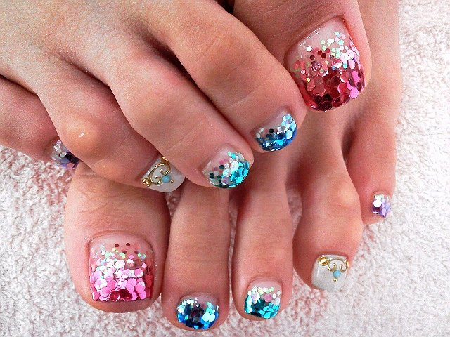 Toe Nail Polish Designs Lovely Cool toe Nail Art Designs
