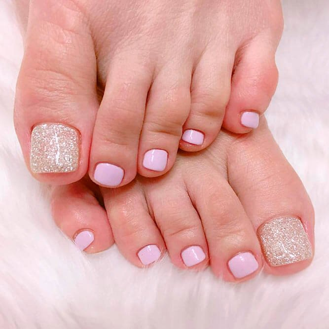 Toe Nail Polish Designs Luxury top Exciting Pedicure Ideas Trend 2019 • Stylish F9