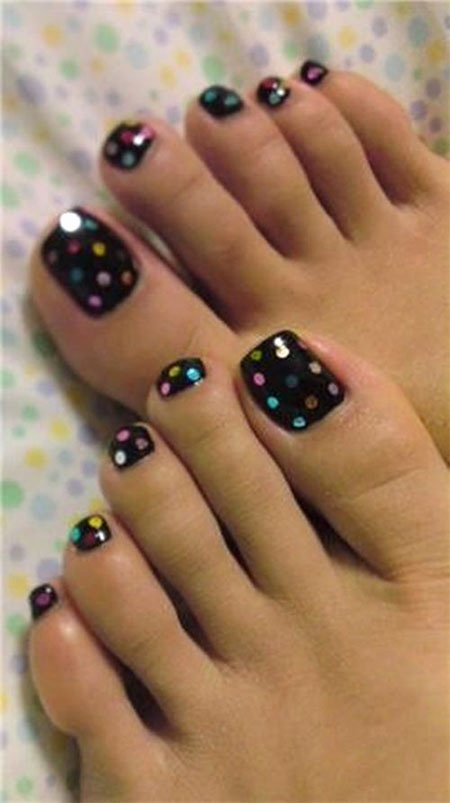 Toe Nail Polish Designs New Simple Summer Inspired toe Nail Art Designs Ideas Trends