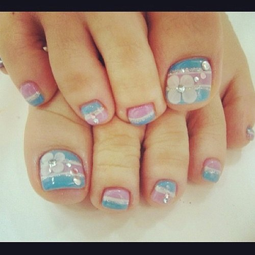 Toes Nails Design Pictures Elegant Simple Nail Art Designs for Beautiful Feet – Nailkart