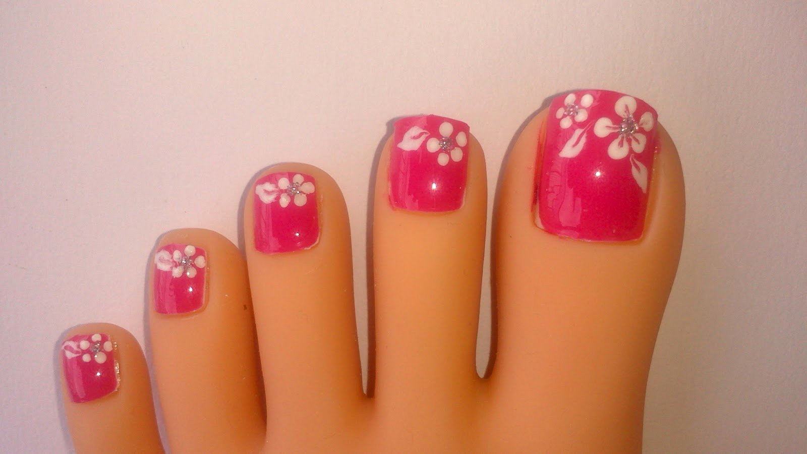 Toes Nails Design Pictures Unique Lnetsa S Nailart toe Nail Design Short Nails Version