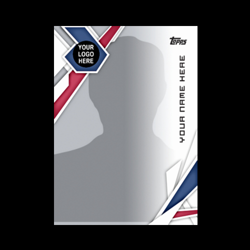 Topps Baseball Card Template Awesome topps New Self Design Mlb and Mls Fan Trading Cards