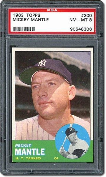 Topps Baseball Card Template Elegant Psa Set Registry A Design for the Ages topps 1963